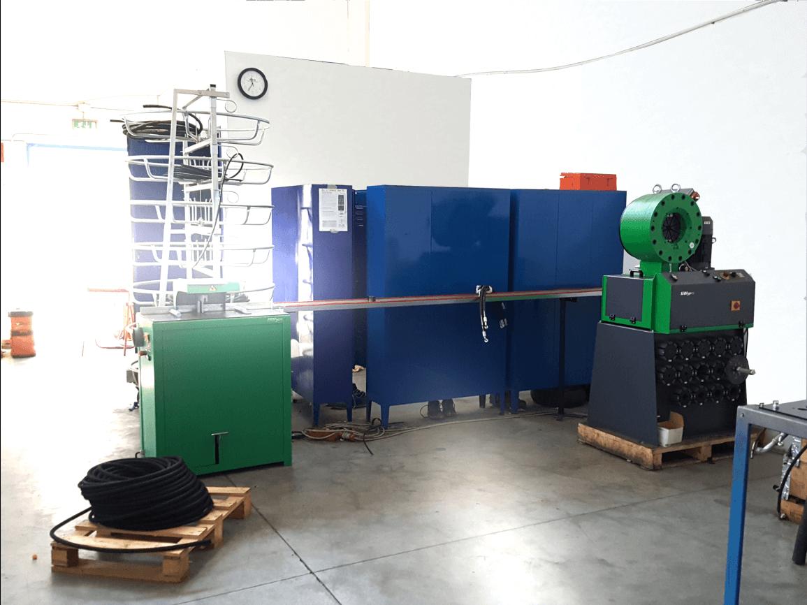 realizzazione tubi rigidi e flessibili oleodinamica